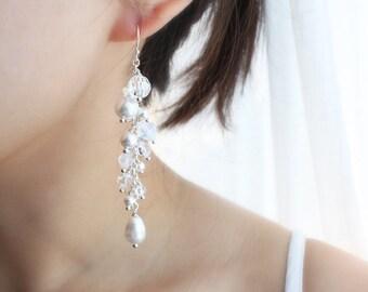 Only You Earrings, Bridal Earrings, Wedding Jewelry