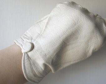 French LEATHER Gloves // Kid-glove // Vintage gloves