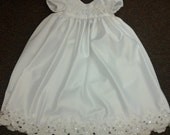 Custom Christening/Baptismal Gown from Your Wedding Dress