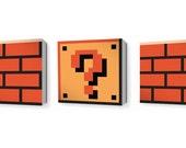 8-Bit Mario Blocks (3 pack)