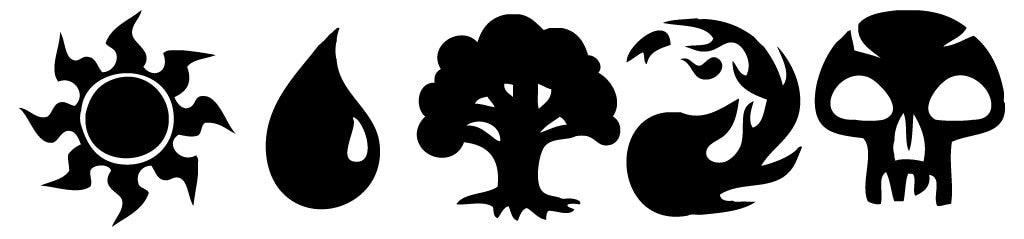 Magic The Gathering Mana Logo
