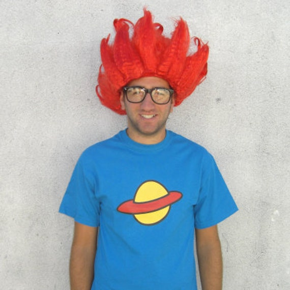 Chuckie Finster T-Shirt Rugrats Costume Saturn by MyPartyShirt
