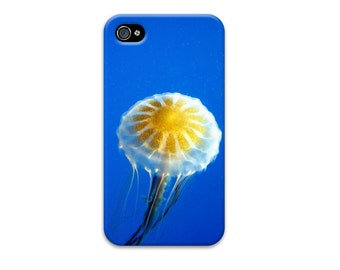 Cobalt Blue Jellyfish iphone 6 case, Summer iphone 5 case, Unique iphone 4 case, iphone se case, ocean iphone case, nautical iphone case