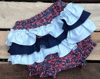 Add on a Pair of Ruffle Bottom Diaper Cover/Bloomers