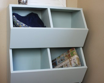 6-bin Toy Storage Woodworking Plans
