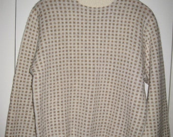 Vintage Pringle of Scotland Scottish Shetland Wool Sweater size 40
