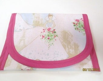 Bags & Purses Wedding Brides Wallets Money clip, 6.5 x 5 Pouch coin purse, Clutch Envelope, Shower Gift, Cosmetic Toiletry Storage
