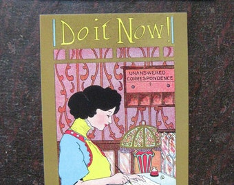Unanswered Correspondence: Do It Now postcard set, pack of 5