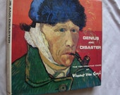 1968 Genius and Disaster Book about Vincent Van Gogh