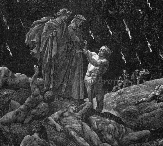 dantes inferno: canto xvi essay The inferno and the perfection of gods justice religion essay print reference this   (alighieri canto xix, 10-13) however, he will still along his journey show .