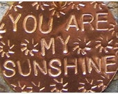 You Are My Sunshine by Jean Skipper - Photo Post Card and Art Print with Envelope