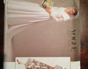 Uncut - Vogue Bridal Original 2768 -size 12-14-16