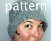 KNIT PATTERN PDF Matilda and Tillie Cloche Hats
