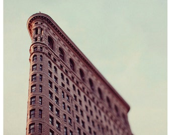 New York City Photography  - Flatiron Building - NYC - City - New York Art - Manhattan - Architecture - Original Fine Art Photograph - Bock
