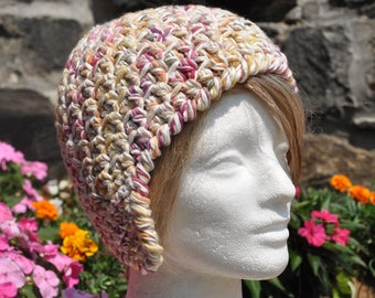 Women's Adult Ear flap Hat - Crocheted Hat - Winter Accessories - Women's Hat
