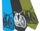 Bicycle Skinny Tie