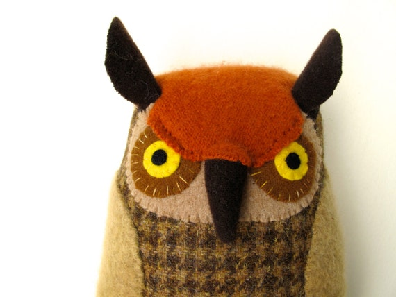 Soft Brown Owl