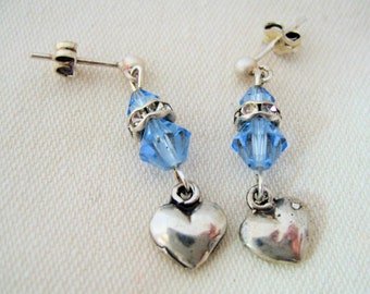 SALE-Enduring Hearts Earrings by Diana