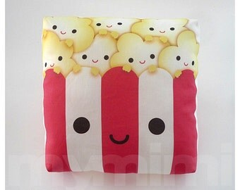 Decorative Pillow, Mini Pillow, Kawaii Toy - Yummy Popcorn