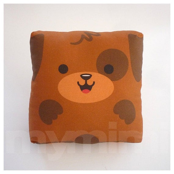 Animal Pillows Toys R Us : Toy Puppy Brown Pillow Stuffed Animal Throw Pillow