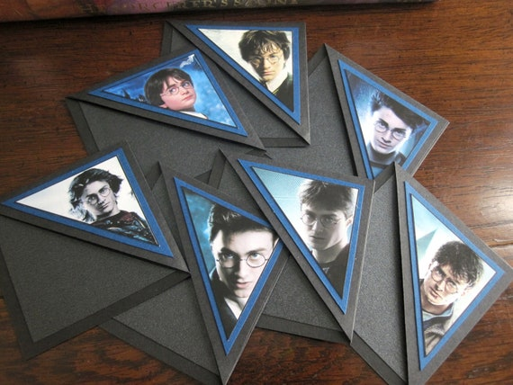 Harry Potter Bookmarks - Set of 7