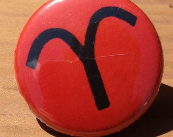Aries Zodiac Astrologica Sign - Button, Magnet, Bottle Opener