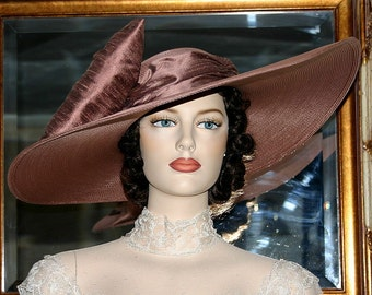 Kentucky Derby Hat Ascot Southern Belle Tea Hat - Titanic