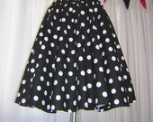 Black Polka Dot Sash