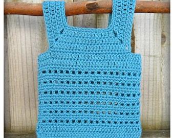 Little Blocks Vest PDF Pattern Digital Clothing Top Crochet