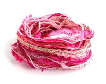 Creative Yarn Variety Pack, Perfect Pinks, 30 metres assorted inspiration, candy bubblegum cerise rose