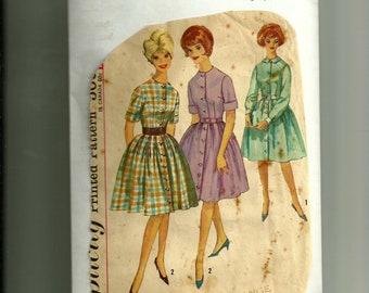 Vintage Simplicity Misses' Dress Pattern 4519