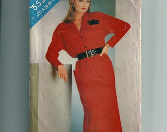 Vintage Butterick Misses' Dress Pattern 5528