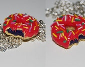 RESERVED Donut Necklace