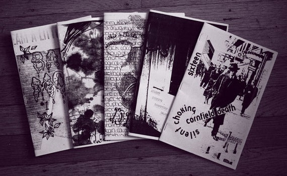 Bad Moon 1, Dirty 1 and 2, SCCD 15 and 16 Zine Pack