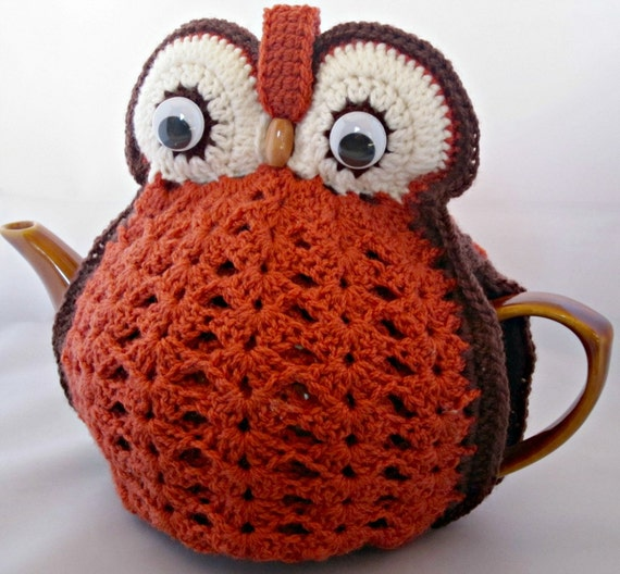 Knitted Owl Tea Cosy Pattern : Unavailable Listing on Etsy