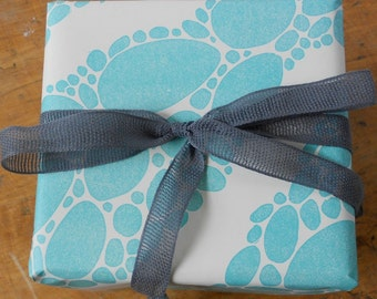 Turquoise River Gift Wrap