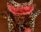 MADE TO MEASURE - haute couture  pet dog winter coat