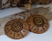 SALE - Radiant Circles Earrings