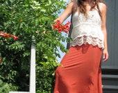 Organic Straight Cut Skirt