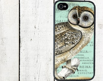 Blue Owl Phone Case for  iPhone 4 4s 5 5s 5c SE 6 6s 7  6 6s 7 Plus Galaxy s4 s5 s6 s7 Edge