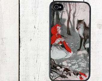 iphone 6 case iPhone case Little Red Riding Hood  iphone 4 and 4s Case - iPhone 5 Case