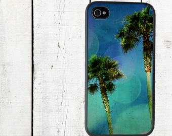 Palm Trees Phone Case for  iPhone 4 4s 5 5s 5c SE 6 6s 7  6 6s 7 Plus Galaxy s4 s5 s6 s7 Edge
