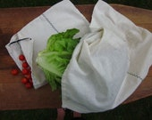 large eco-sweet produce bag. reusable. responsible.