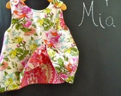 Reversible Swing Top - Amy Butler - Organic Alchemy - Pick the size Newborn up to 8 Years by Boutique Mia