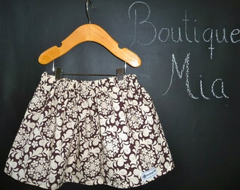 BUY 2 get 1 FREE - Skirt - Sandi Henderson - Henna Garden - Pick the size Newborn up to 14 Years by Boutique Mia