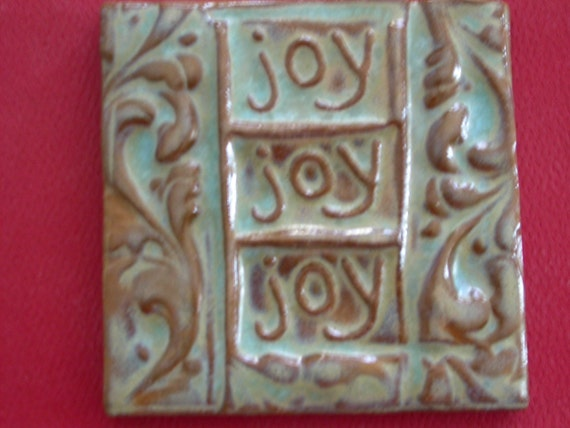 joy joy joy handmade tile