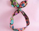 Dolly Bow Headwrap-Boho