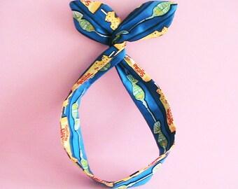 Dolly Bow Headwrap-Sugar Daddy