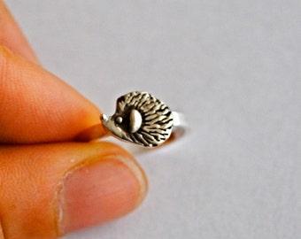 Handmade Hedgehog Ring