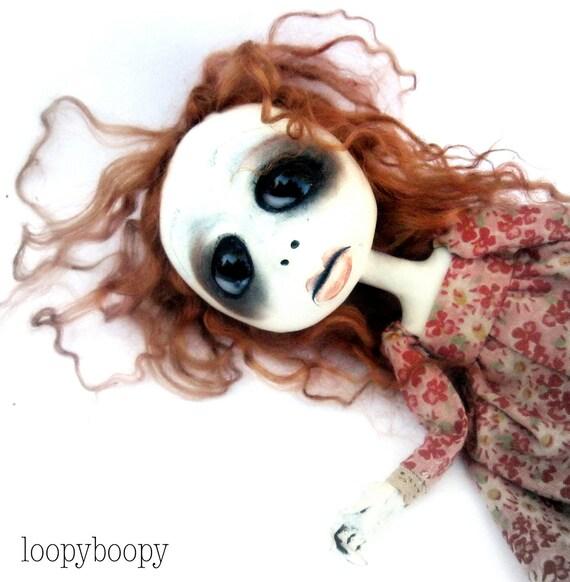 Gothic Art Doll Ooak Doll Audrey Hotovy